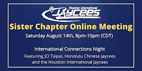 International Connection  Night w/ JCI Taipei & Honolulu Chinese Jaycees tickets