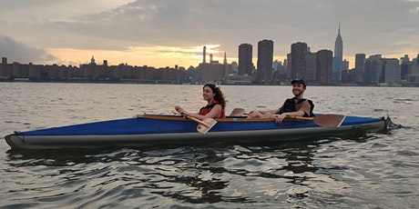 Kayaking NYC Waterfront with classic kayaks tickets