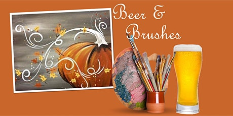 Beer & Brushes Paint Night- October tickets