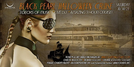 Black Pearl Vancouver Halloween Cruise tickets