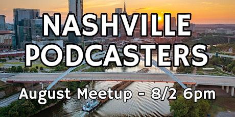 Nashville Podcasters BONUS meetup feat. Podcast Editors' Club tickets