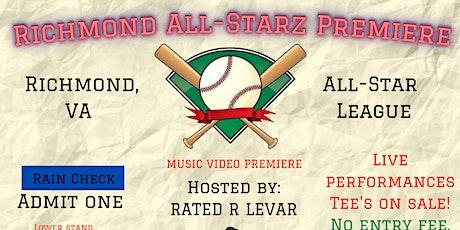 Richmond All-Starz Music Video Premiere tickets