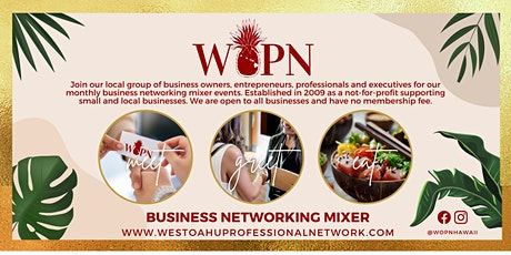 Business Networking Mixer by West Oahu Professional Network (WOPN) tickets