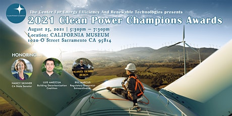 2021 Clean Power Champion Awards tickets