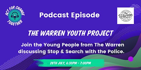Podcast Episode - Stop and Search tickets