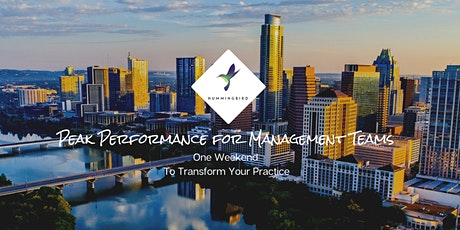 New!  Peak Performance for Management Teams tickets