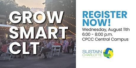 Grow Smart CLT - Let's End Traffic Deaths in Charlotte! tickets