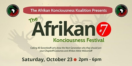 7th Annual Afrikan Konciousness Koalition Festival tickets