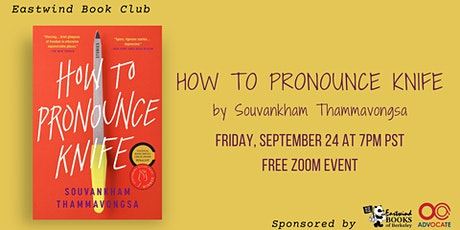 Eastwind Book Club: How to Pronounce Knife tickets