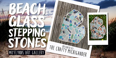 Beach Glass Stepping Stones - Cedar Springs tickets