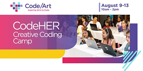 Creative Coding Camp for Girls tickets