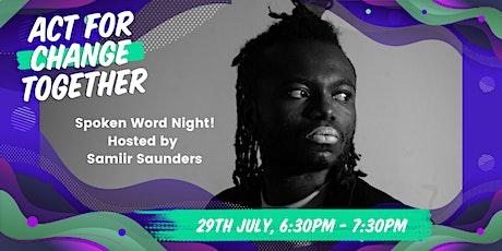 Spoken Word Night! tickets