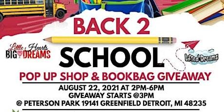 Back to School Pop Up Shop & Bookbag Giveaway tickets