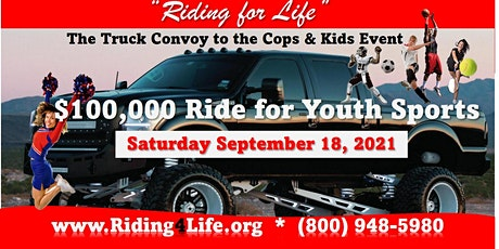 The Ride for Youth Sports tickets