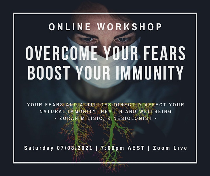 Overcome Your Fears, Boost Your Immunity image
