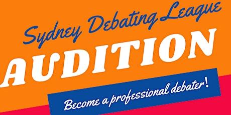Sydney Debating League Audition tickets