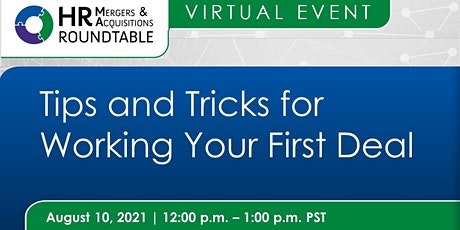 Tips and Tricks for working your first deal tickets