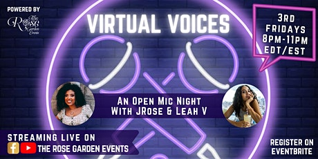 Virtual Voices with JRose & Leah V tickets