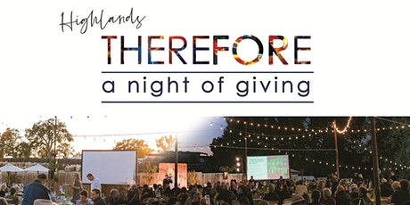 Therefore: A Night of Giving tickets