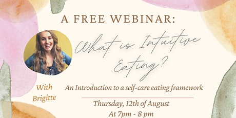 FREE Webinar: What is Intuitive Eating? tickets