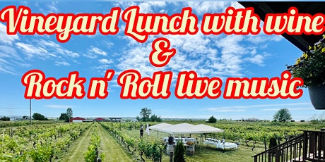 Vineyard Lunch with wine & Rock n' Roll live music tickets