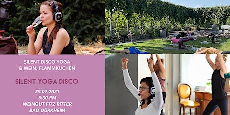 Silent Yoga Disco im Weingut Fitz-Ritter Tickets