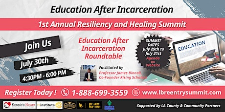 Education After Incarceration tickets