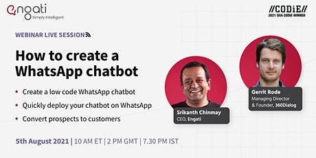 How to create a WhatsApp chatbot tickets