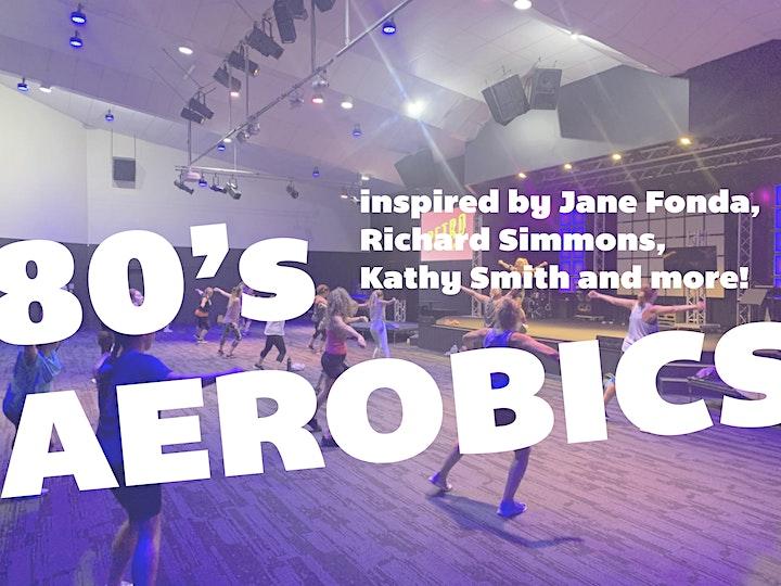 80s Aerobics for Women - Saturday 9am image