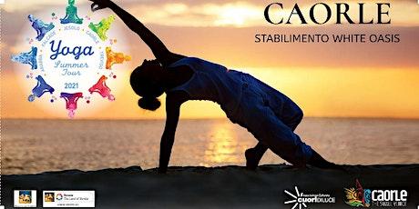 """Yoga Summer Tour Veneto 2021- """"Feel the sea""""  YOGA e Bagno di Gong a Caorle biglietti"""