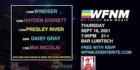 WINDSER / HAYDEN EVERETT  / PRESLEY RIVER / DAISY GRAY / MIA NICOLAI tickets