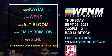 KAYLS / WENS / ALT BLOOM / EMILY BRIMLOW / GENE tickets