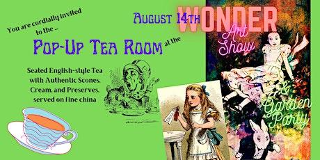 WONDER Pop-Up Tea Room tickets