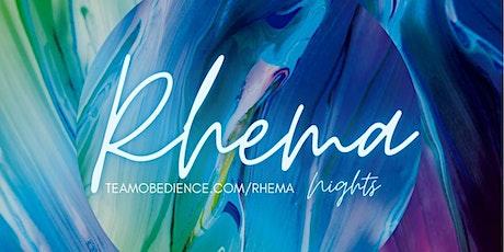 Rhema - August tickets