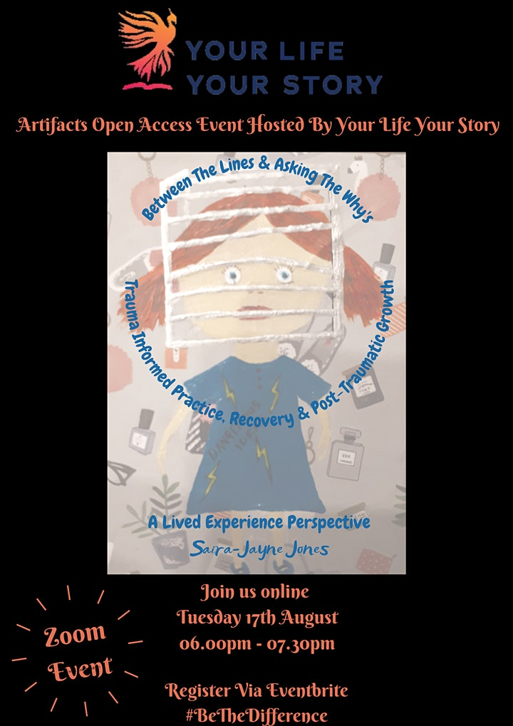 BETWEEN THE LINES-Trauma Informed Practice Recovery & Post Traumatic Growth image