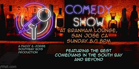 Stand Up Comedy @ Branham Lounge tickets
