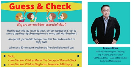 Does your Child Scare on Math Subject!! How to Help Them !! tickets