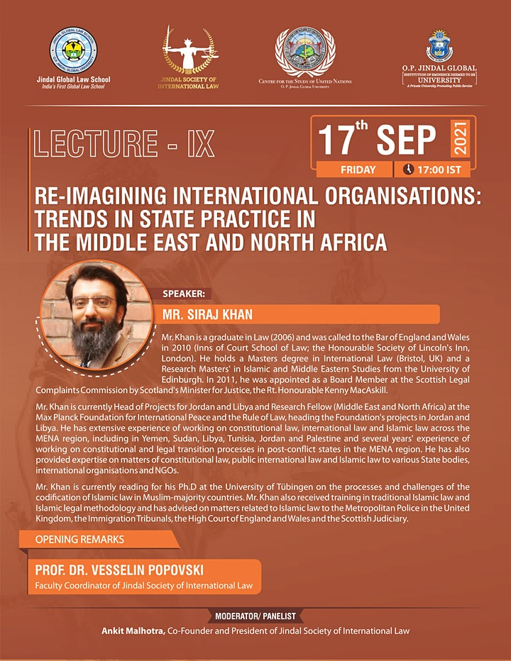 Re-Imagining International Organisations: Trends in State Practice in MENA image