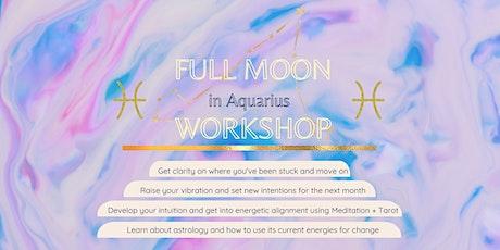 Full Moon Journaling & Meditation Workshop tickets