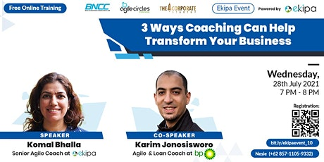 3 Ways Coaching Can Help Transform Your Business tickets