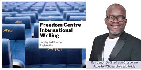 FCI Welling - Sunday 11:00am  Service - 25th July tickets
