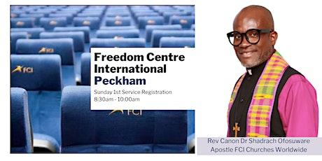 FCI Peckham - Sunday 8:30am Service - 25th July tickets