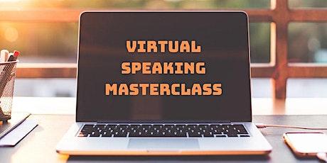 Virtual Speaking Masterclass Bangalore tickets
