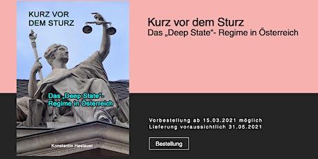 """Buchpräsentation """"Kurz vor den Sturz"""" Tickets"""