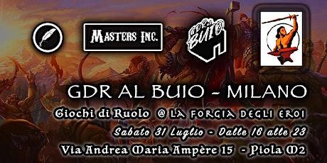GdR al Buio Milano - Terza Stagione #1 biglietti