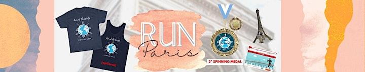 Run Paris Virtual Marathon image