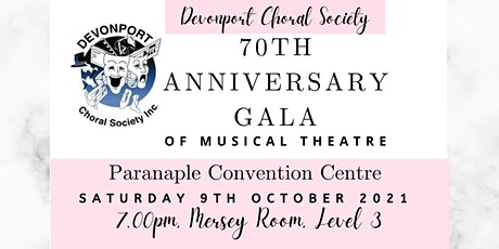 The Devonport Choral Society hosts the 70th Anniversary of Musical Theatre tickets