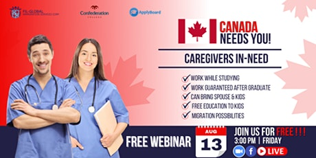 FREE WEBINAR EVENT STUDY IN CANADA WITH CONFEDERATION COLLEGE tickets