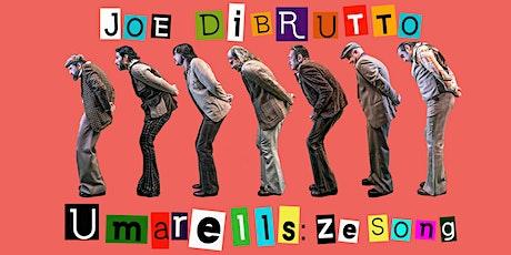 Joe Dibrutto al Giardino per Tutti biglietti