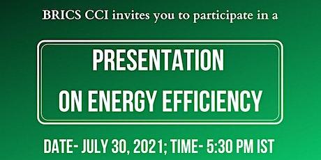 Presentation on Energy Efficiency Tickets